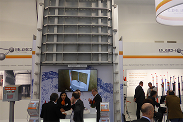 50 years IFAT - BÜSCH joined with 90sqm