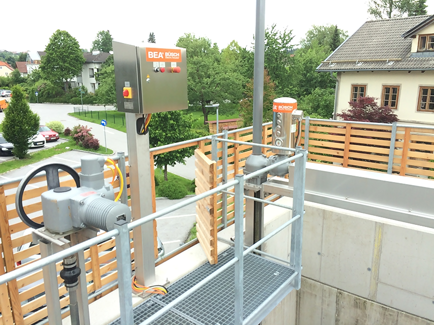 BEA® actuating a two-spindle XL4 (Oberndorf, Austria)