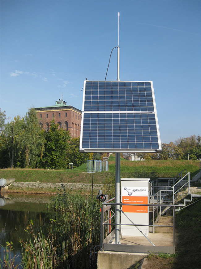 Wireless Power Master with solar panel (Wroclaw, Poland)